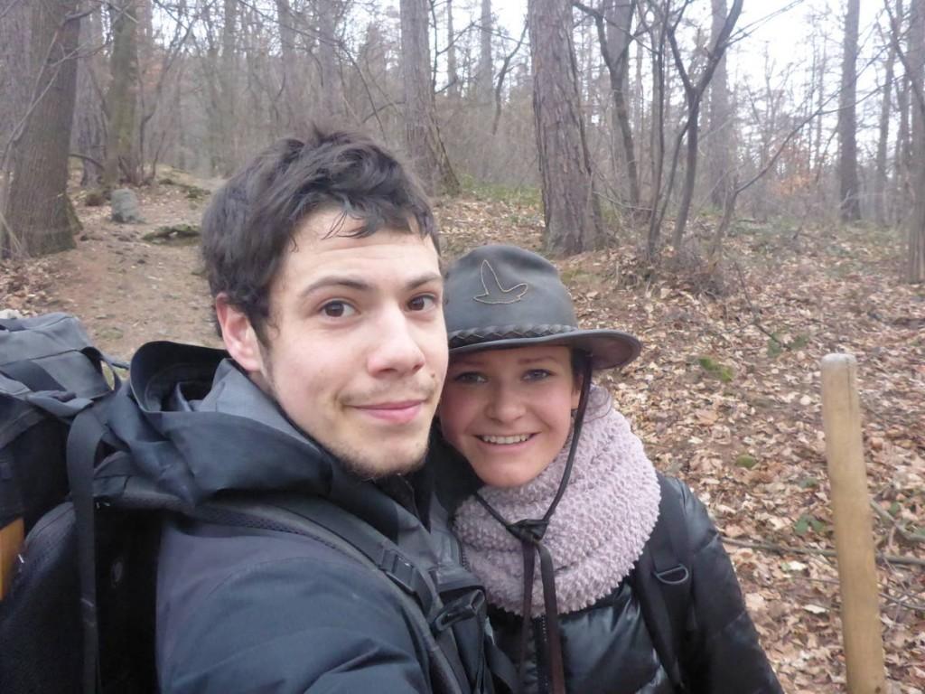 Nous partons camper dans la nature trois jours