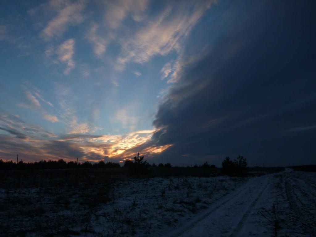 Un coucher de soleil très joli