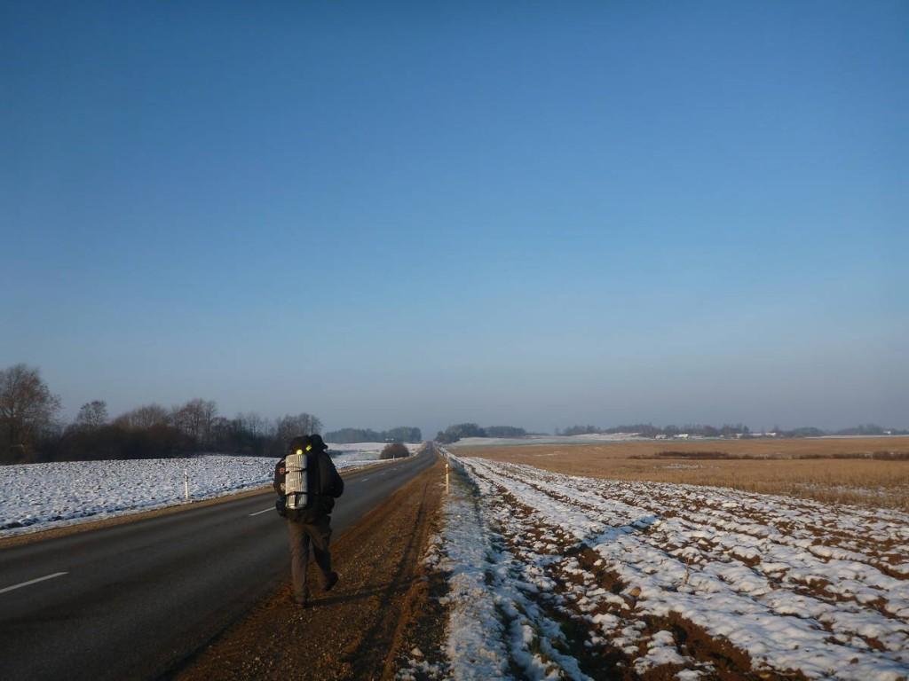 Je dois prendre cette grosse route sur plus de quinze kilomètres
