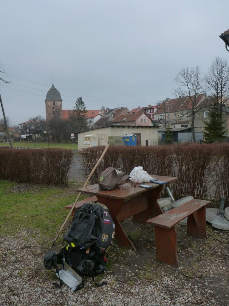 Mes pauses repas dans quelques petits villages