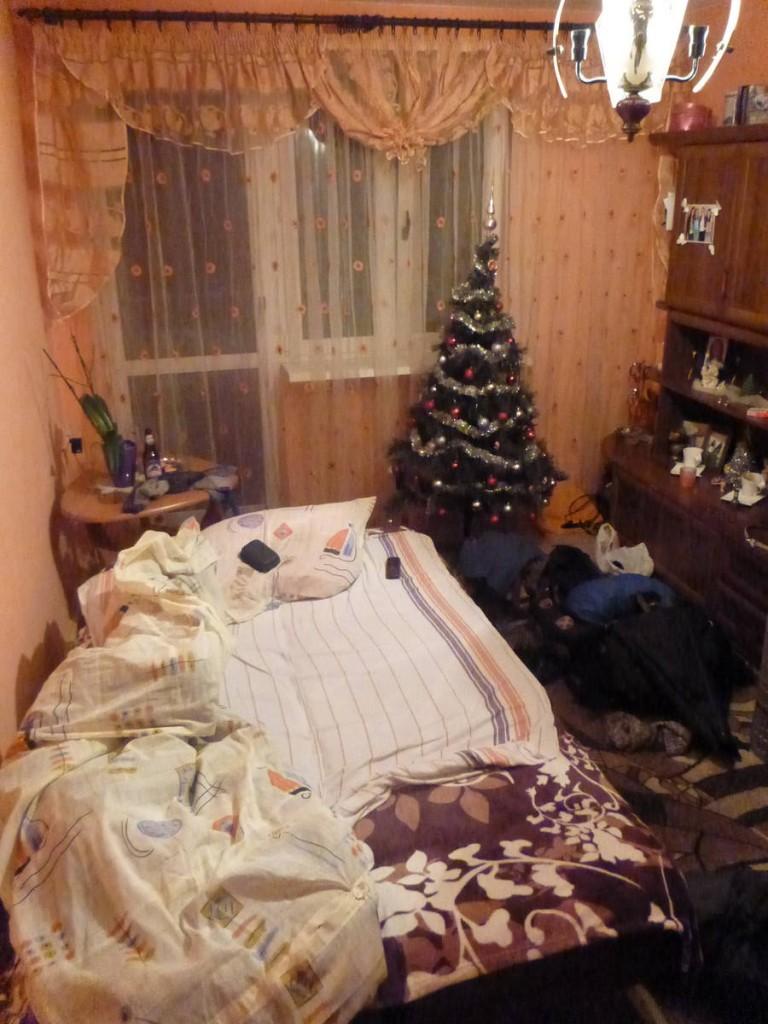 Je dors même dans un grand lit