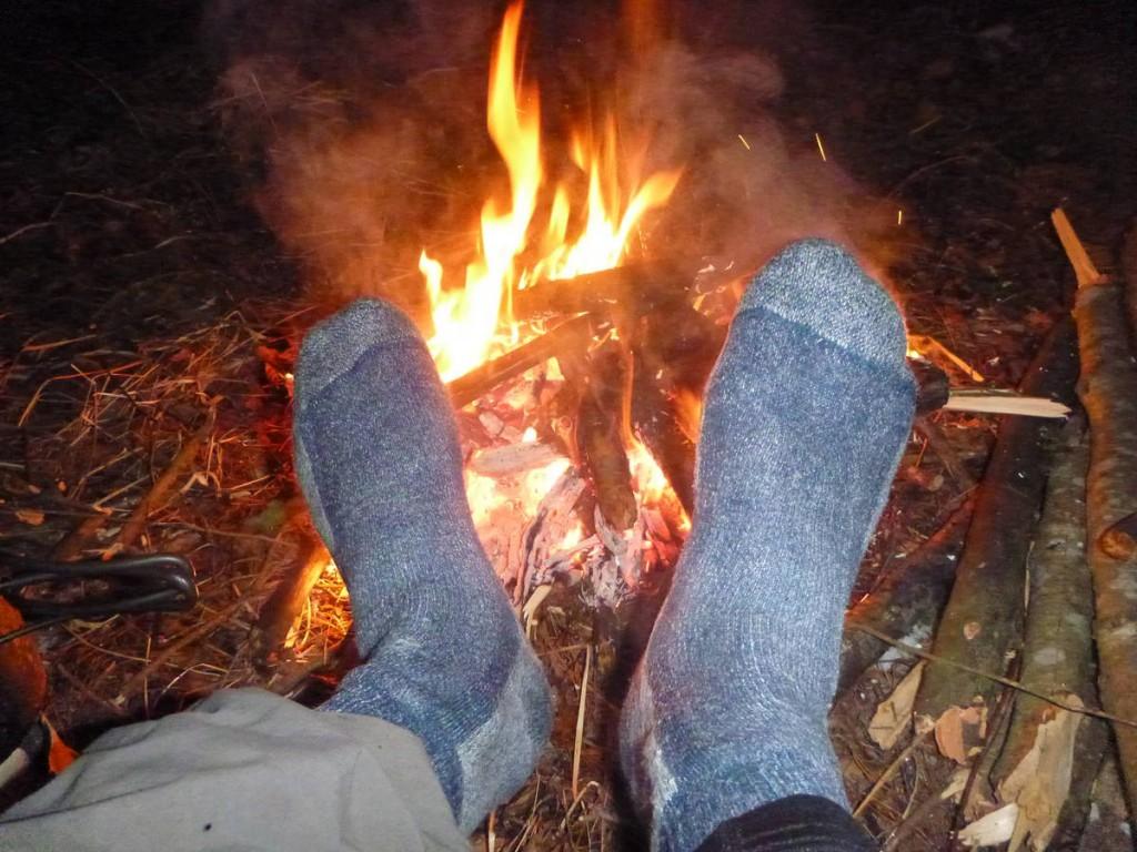 Le soir auprès du feu est un véritable bonheur