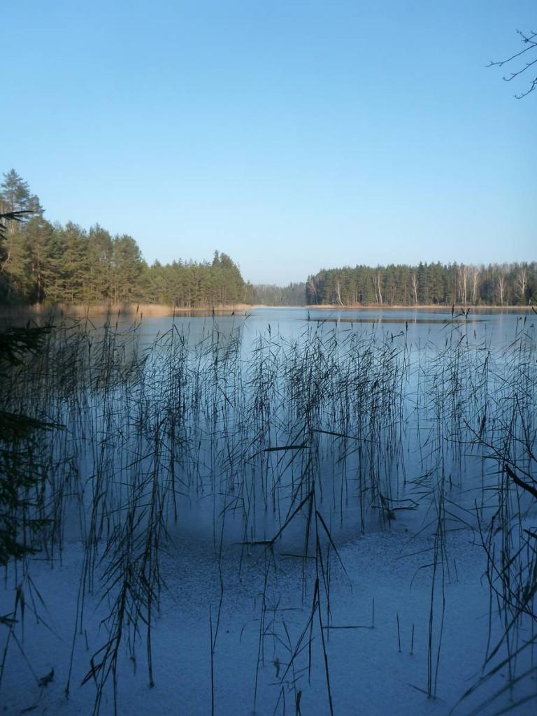 Les lacs commencent à tous geler