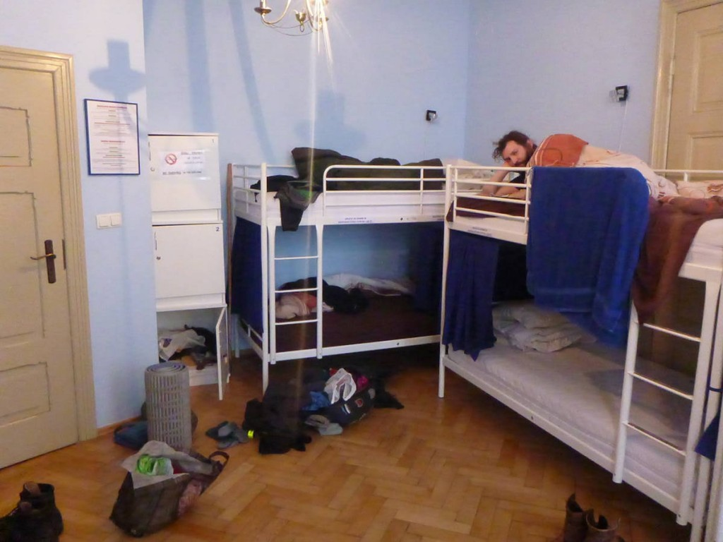 Je loge dans une auberge de jeunesse quelques jours