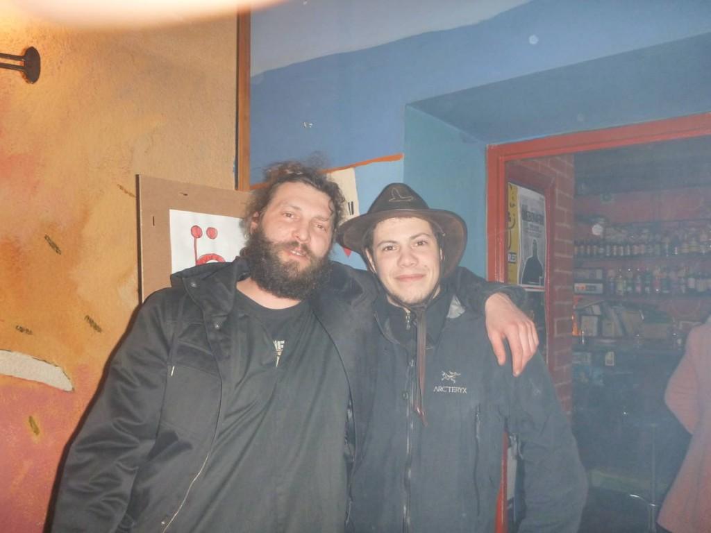 Je rencontre Maciej, un voyageur polonais-norvégien