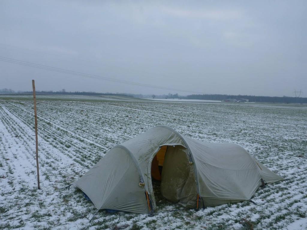 Les nuits au milieu des champs sont assez froides