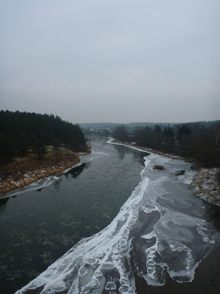 J'arrive à la capitale Vilnius