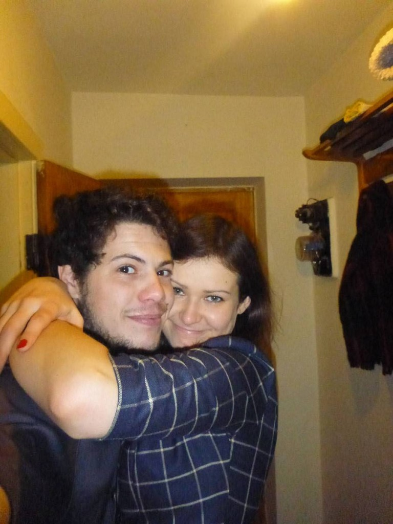 Je rencontre Aida, une charmante lituanienne dont j'avais fais la connaissance de son frère et sa mère quelques semaines auparavant