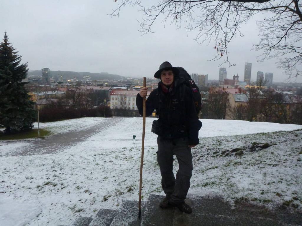 Je repars de Vilnius après vingt jours d'arrêt