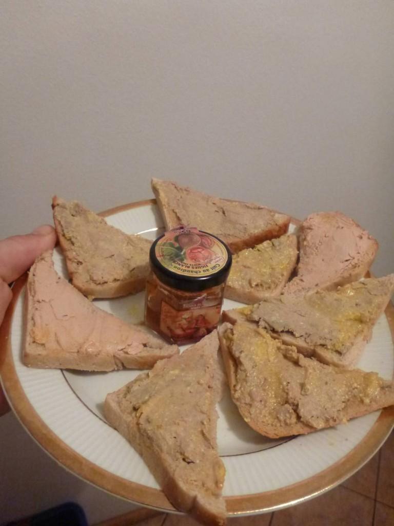 Qui a même reçu du foie gras de son copain français !