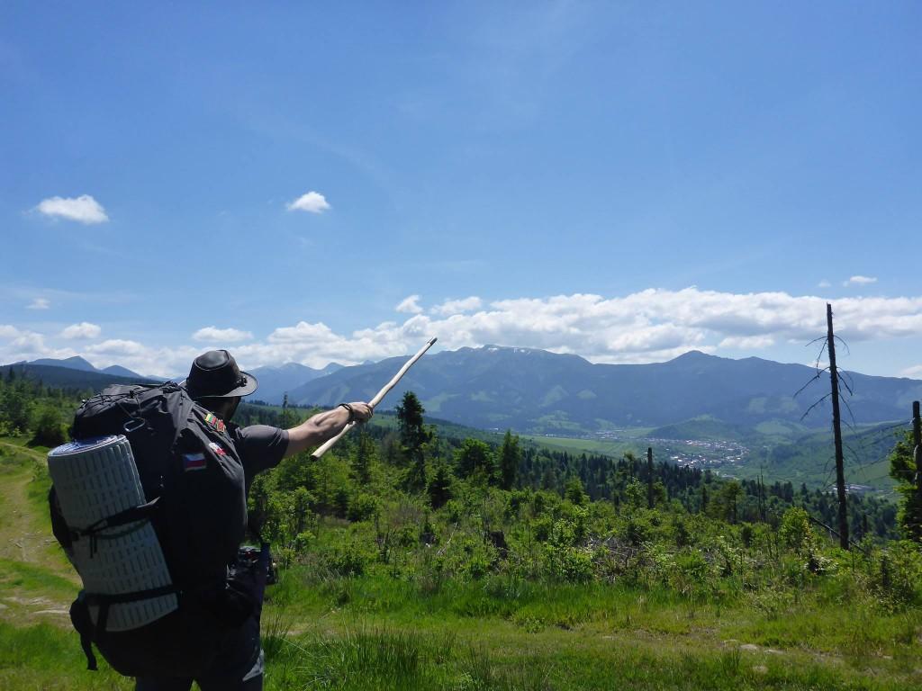 Et les montagnes des Hauts Tatras m'apparaissent enfin !