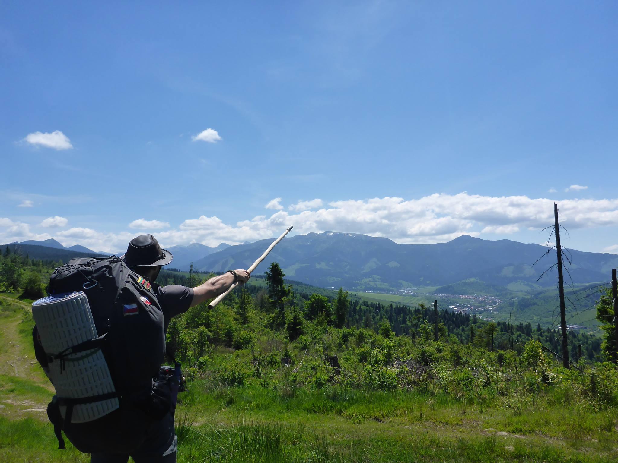 Et le montagnes des Tatras m'appararaissent enfin !