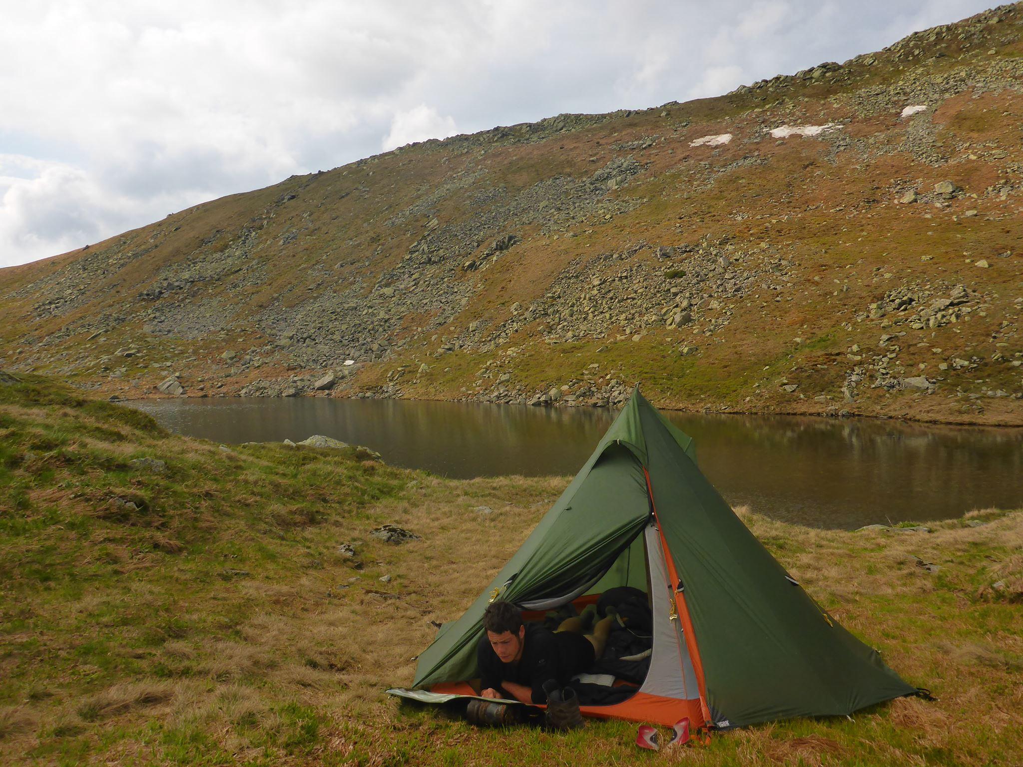 Camper dans les Tatras est apparement interdit...