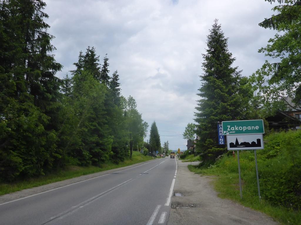 J'arrive à Zakopane, qui est un peu le Chamonix des Alpes