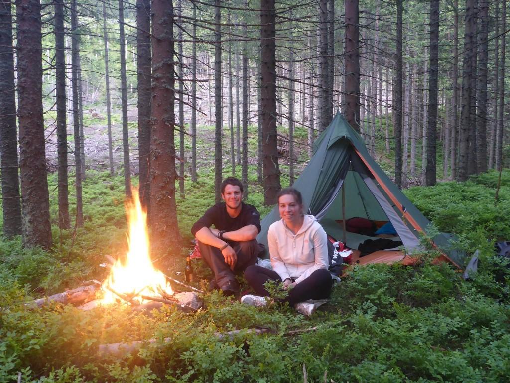 Le monde est petit : Agata, une polonaise m'ayant hébergé en couchsurfing à Poznan il y a de cela plus d'un an, se trouve pour le week en à Zakopane. Nous partons camper dans la montagne.