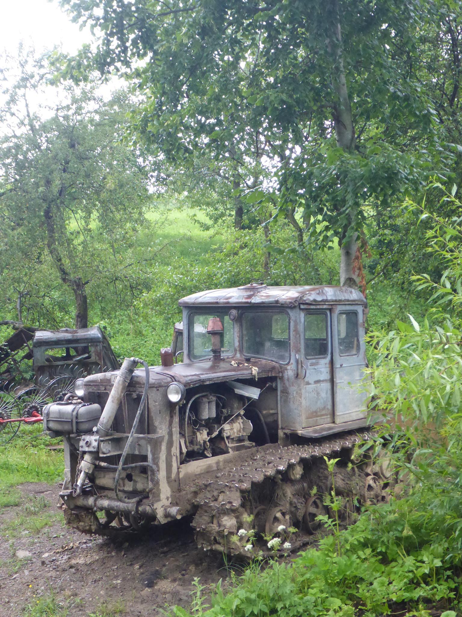 L'Ukraine semble avoir conserver un attrait tout particulier pour les véhicules datant de l'ère soviétique