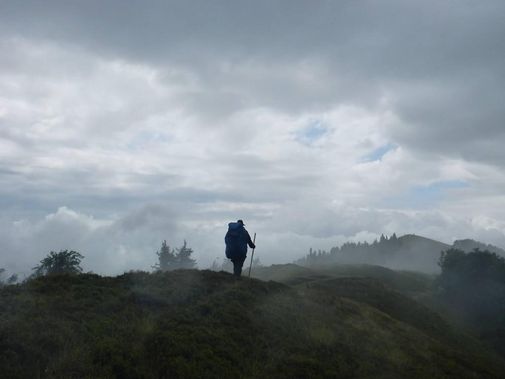 Mais en fin de journée la magie opère lorsque la brume disparait lentement
