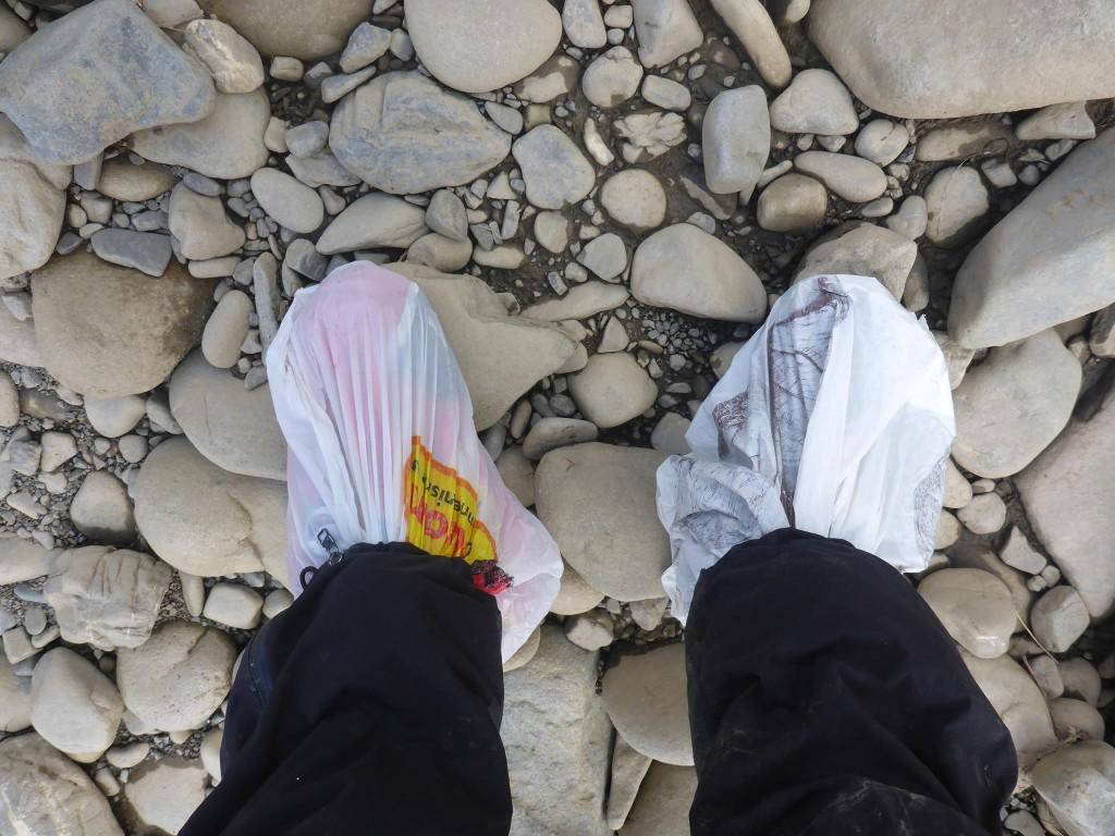 Méthode pour traverser une grosse rivière