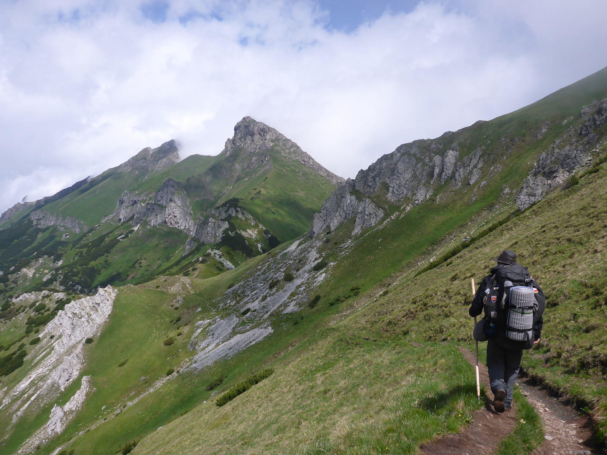 Le dernier jour dans les Tatras me fait ressentir beaucoup de nostalgie pour ces majestueuses montagnes que je vais quitter