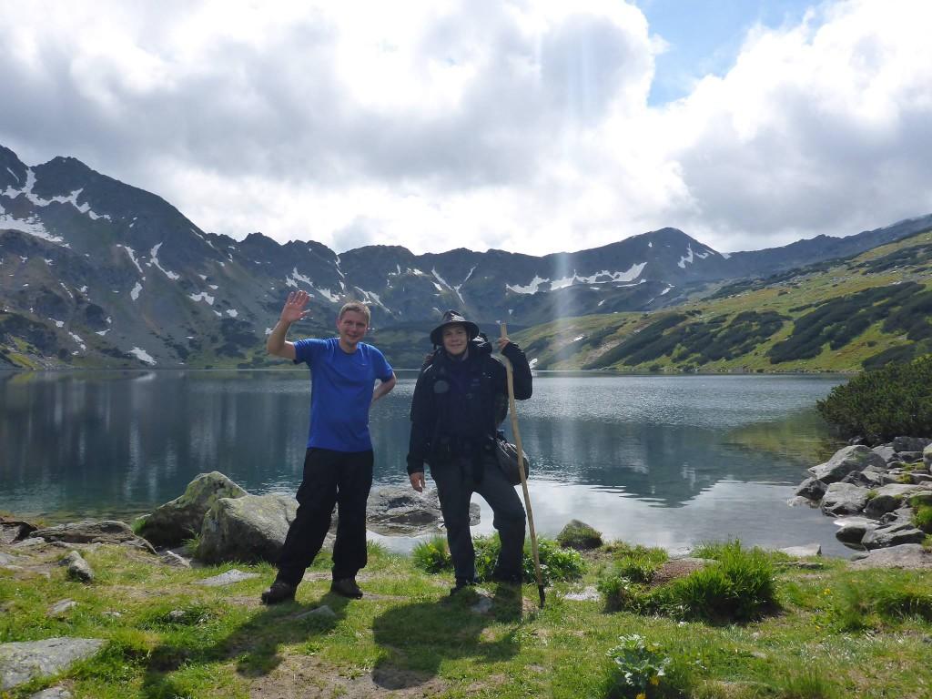 Je rencontre Tomek qui fera en ma compagnie l'ascension du Rysy deux jours plus tard