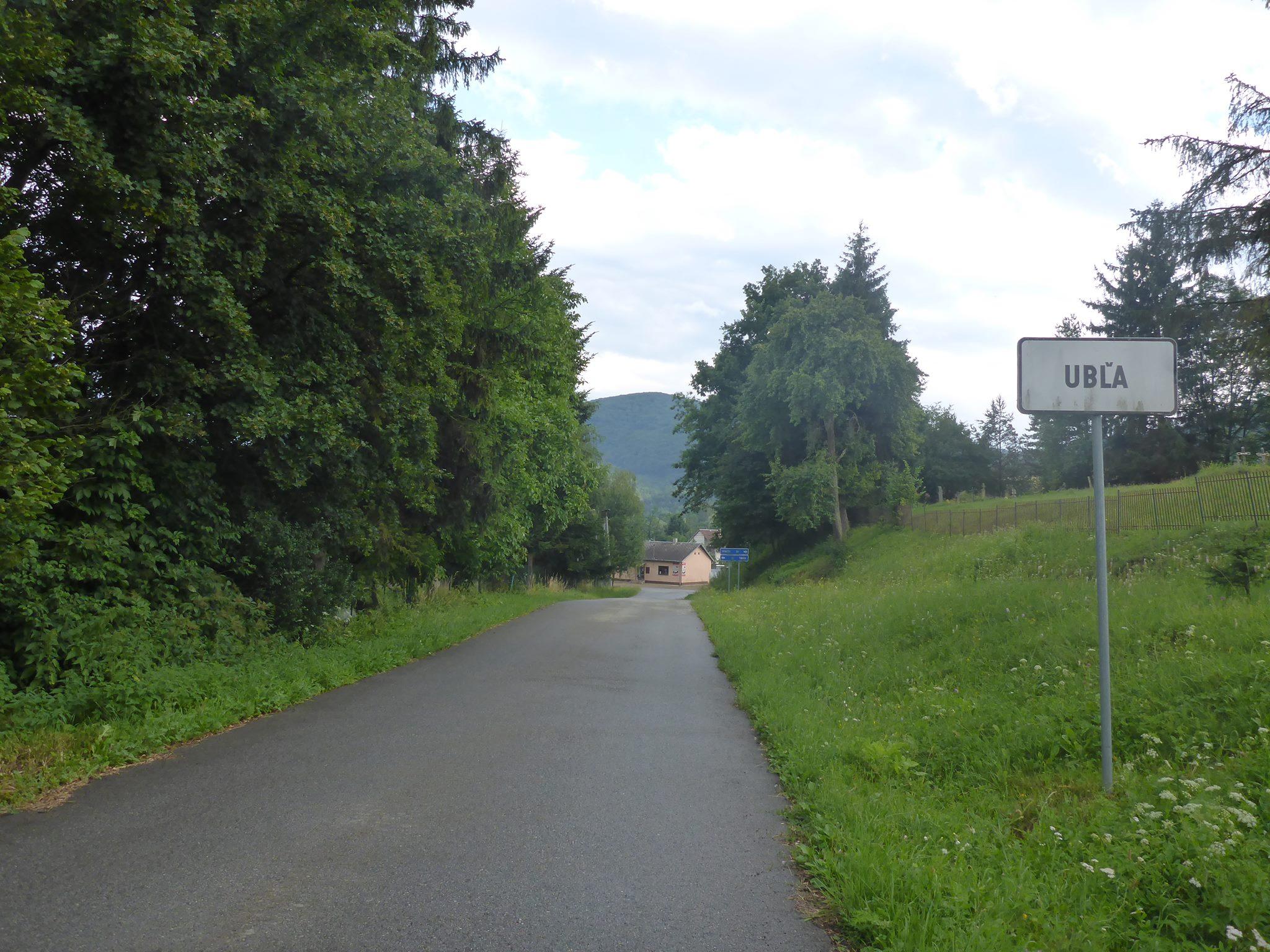 J'arrive tout épuisé à Ubla, le village frontalier à l'Ukraine