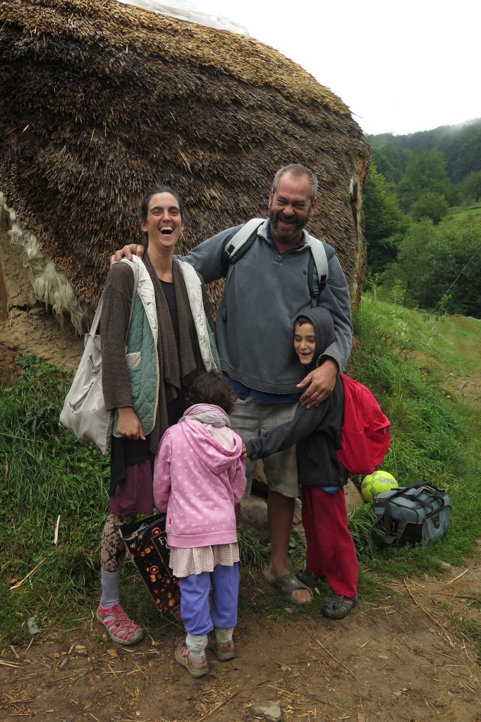 La famille de Ehud sans va