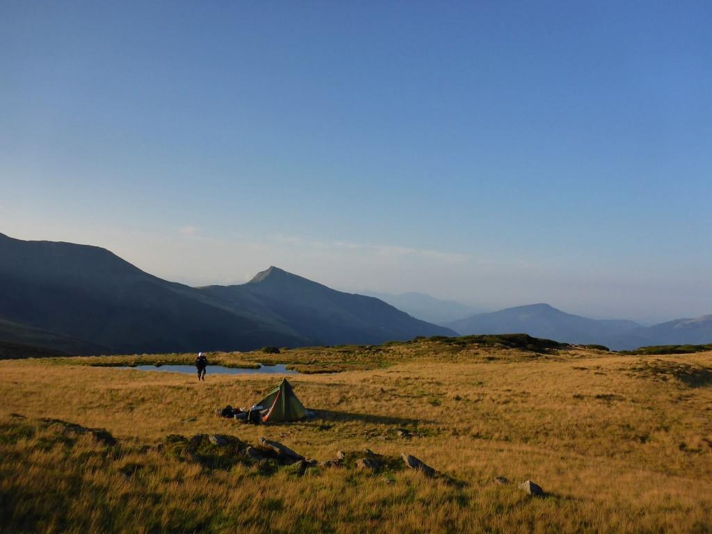 Un campement dont le lieu respire d'une énergie vraiment particulière