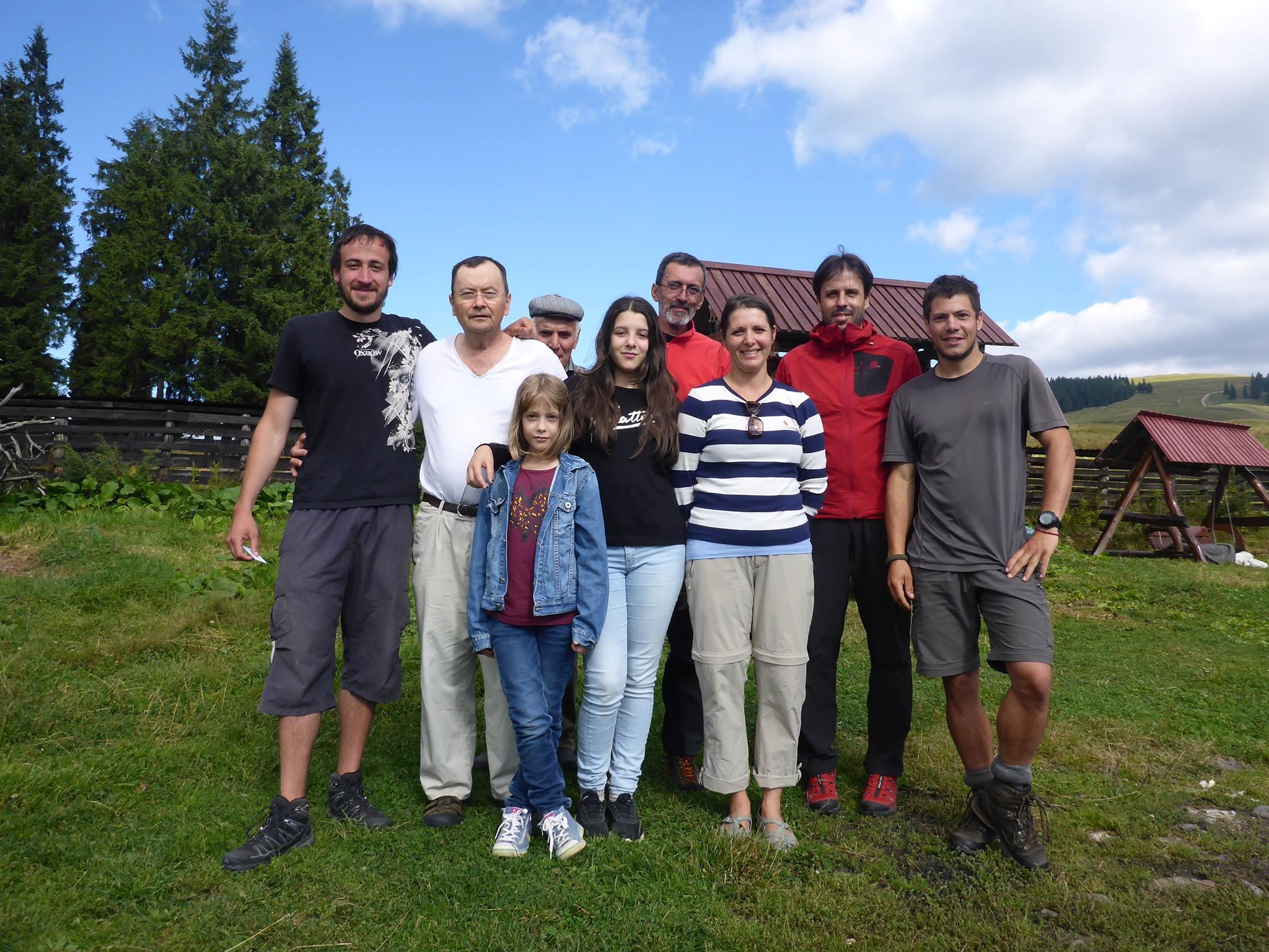 Une famille d'allemand qui nous offre de la bonne nourriture ainsi qu'un bon moment passé en leur compagnie