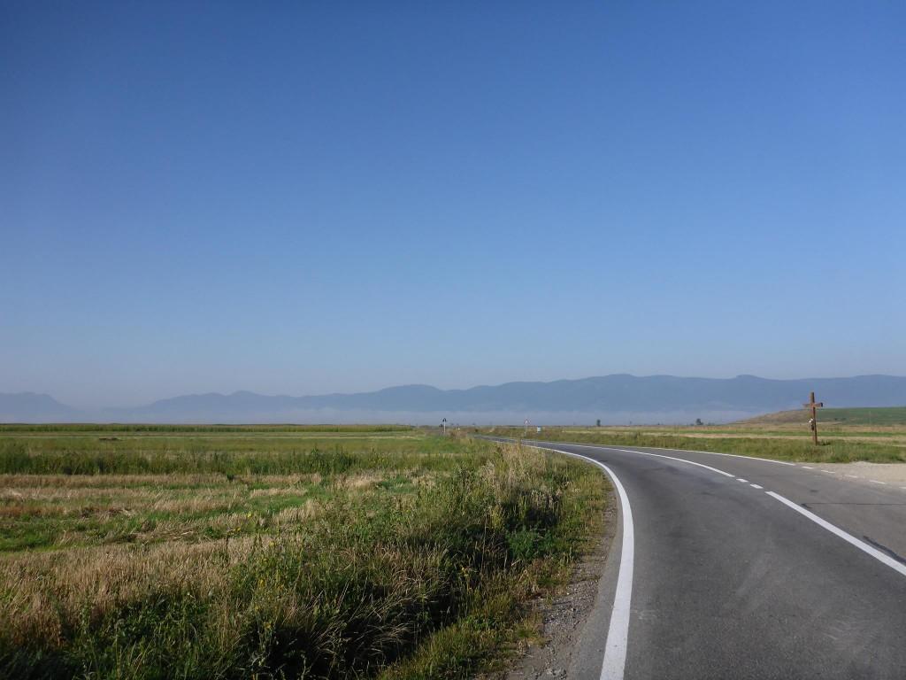 Trois jours et 110 kilomètres de routes plus tard et j'arrive à la ville de Brasov; Je compte y rester une semaine.