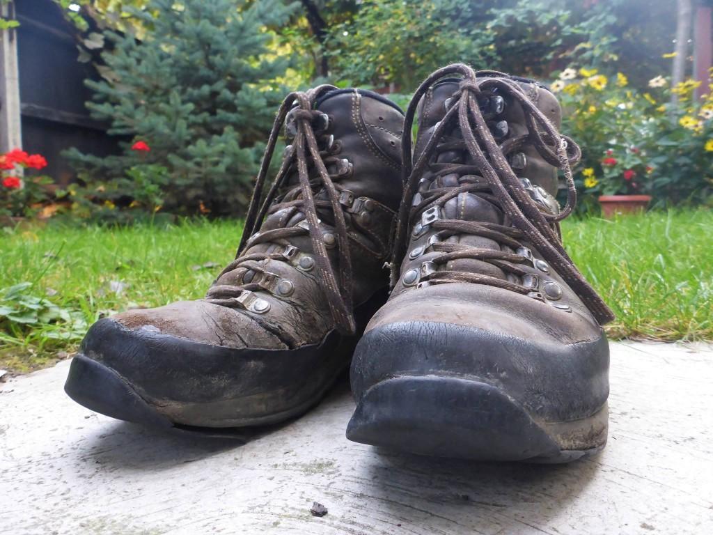 Mes chaussures prennent leur retraite et laisse place à la cinquième paires de ce voyage