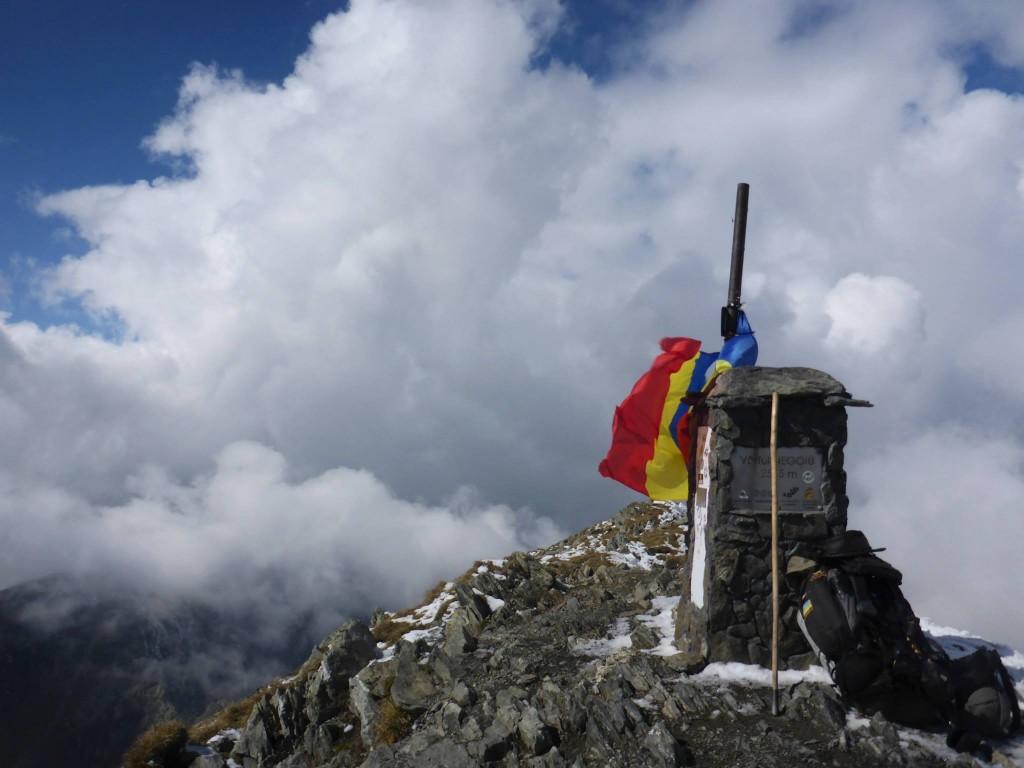 Le sommet du Negoiu à 2535 mètres