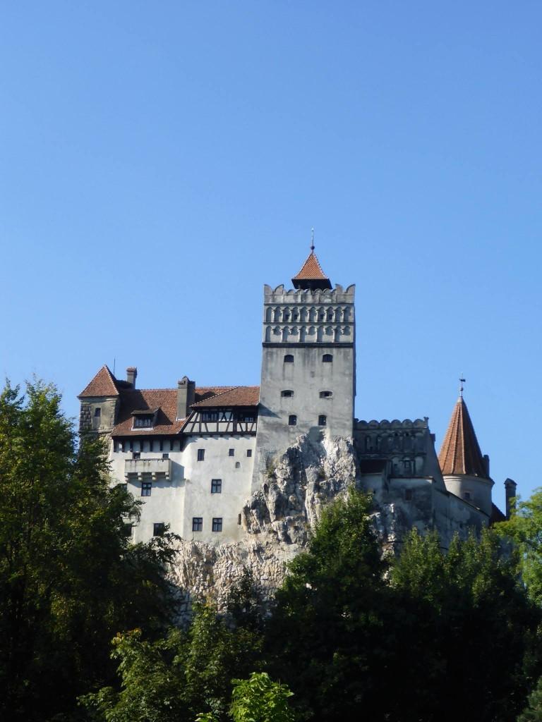 Le château de Dracula dans le village de Bran