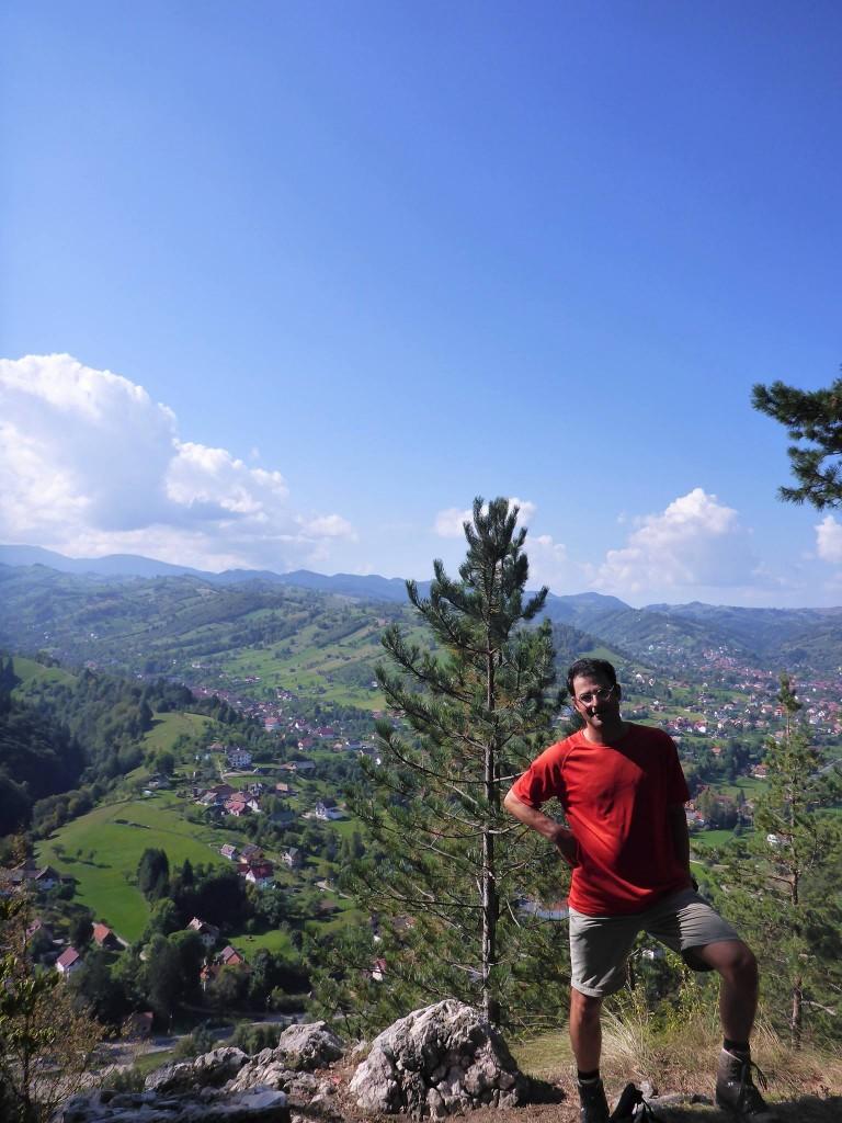 Je retrouve Florent, un ami de France qui vient marcher avec moi pour une semaine.