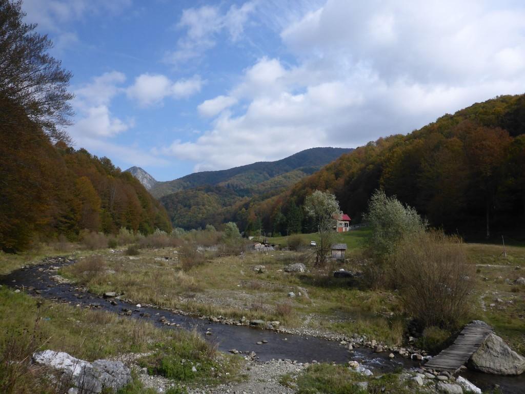 Je mache dans une vallée bien paumé durant quelques jours avant d'arriver à un village