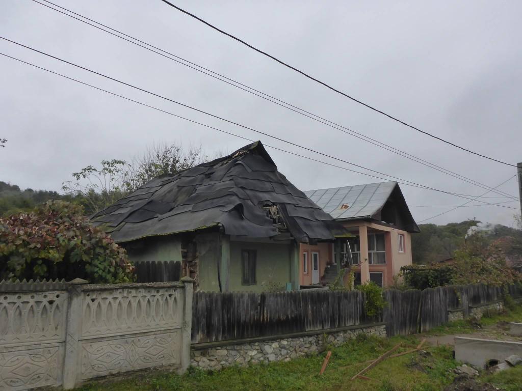 Les maisons des villages sont assez surprenantes parfois