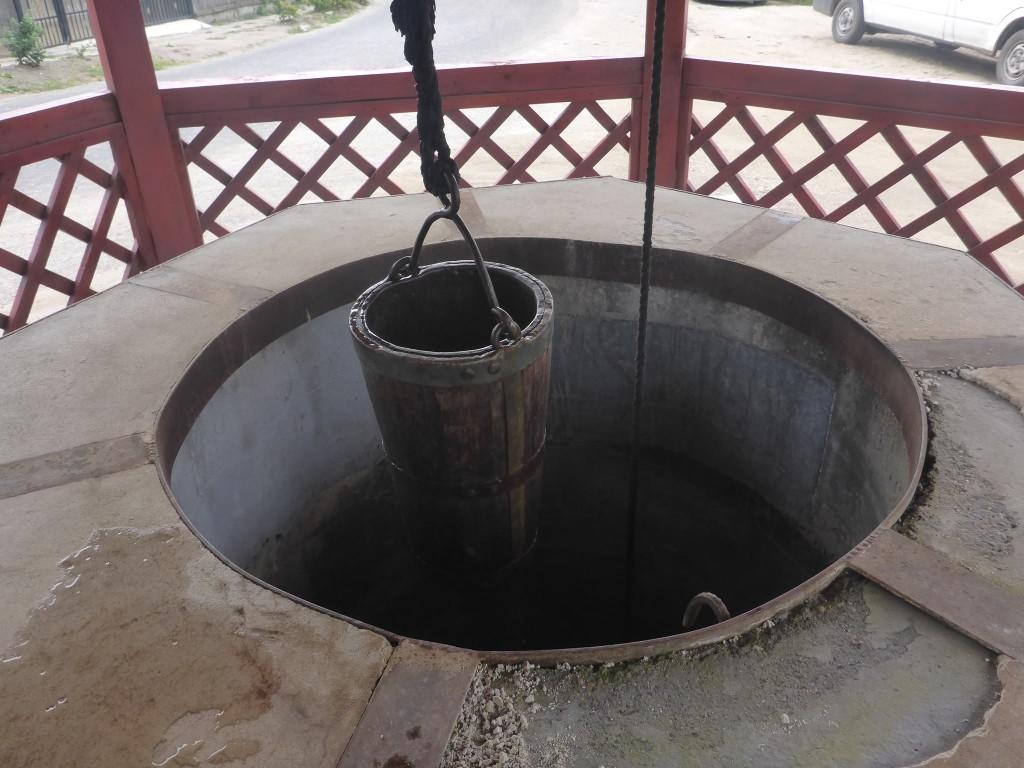 Pas d'eau courante mais des puits communaux