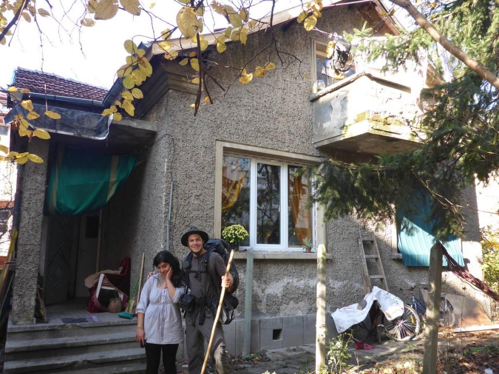 La maison de Kirilka, presque au centre ville