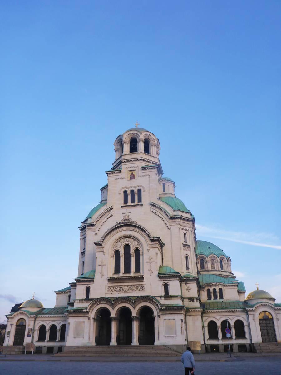 Je crois que c'est ma seule photo de la ville de Sofia^^
