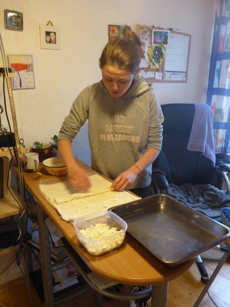 Je reste pour finir deux jours chez Sevim, à cuisiner des Banitsa et à laisser se constuire une belle amitié