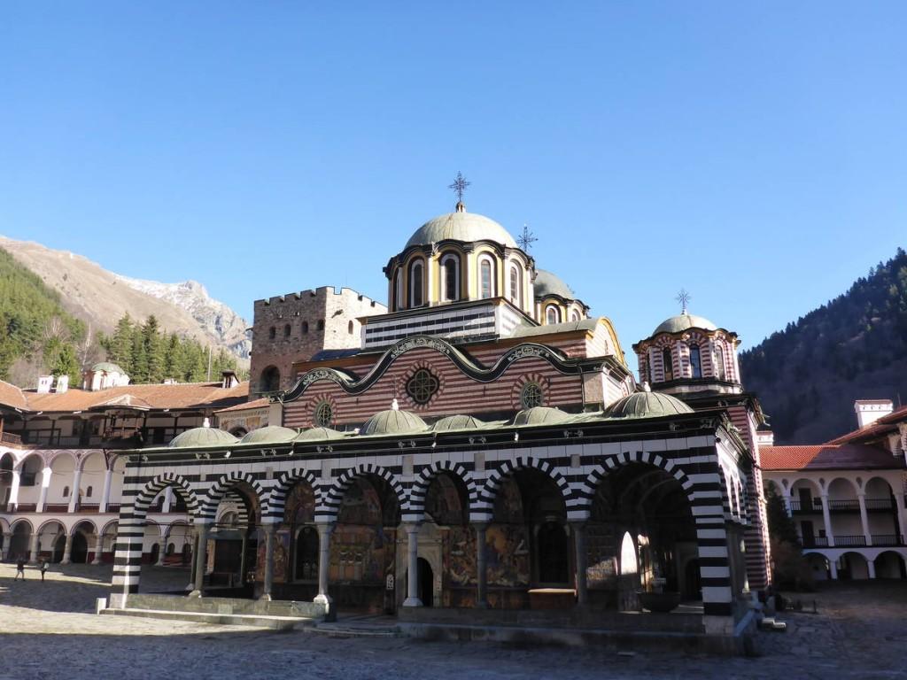 Le monastère de Rila, vraiment de toute beauté