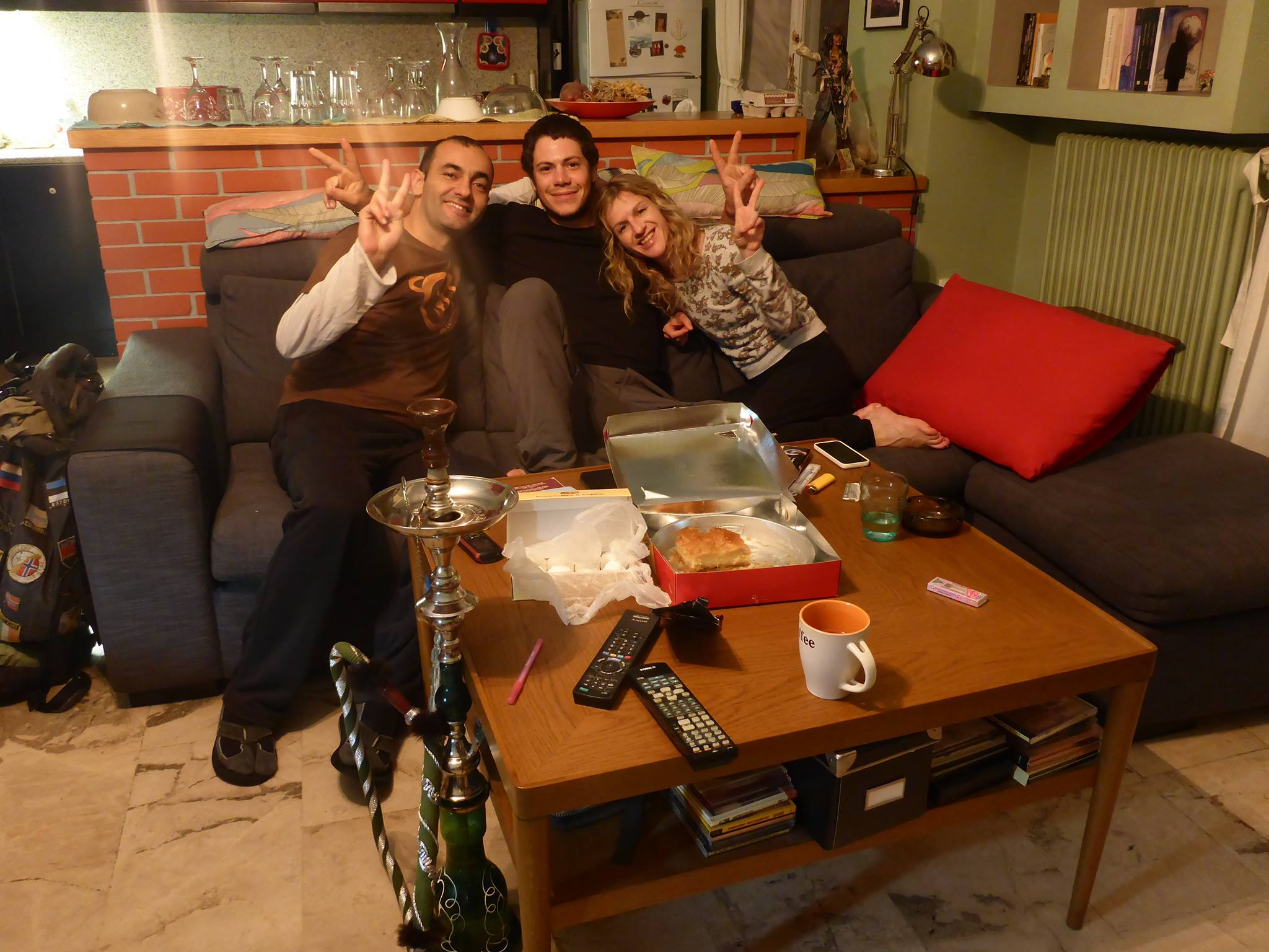 Pantelis et Maria, encore merci pour tous ces moments partagés