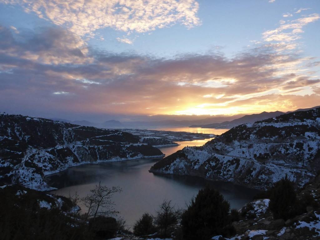 Des paysages splendides le soir et le tout dans une belle solitude
