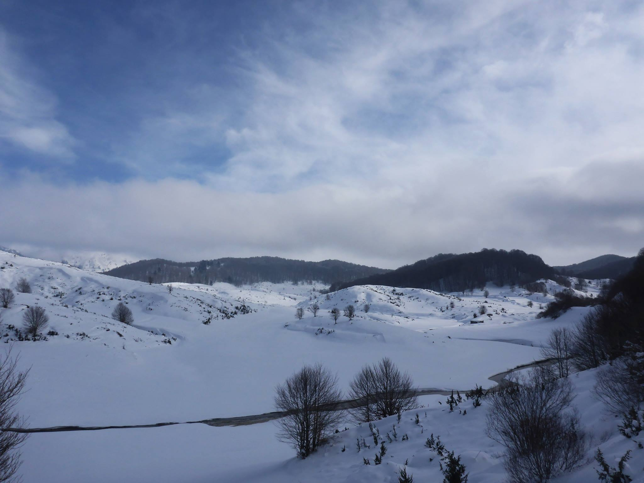 Malgré le vent glacial, je ne suis absolument pas déçu des paysages
