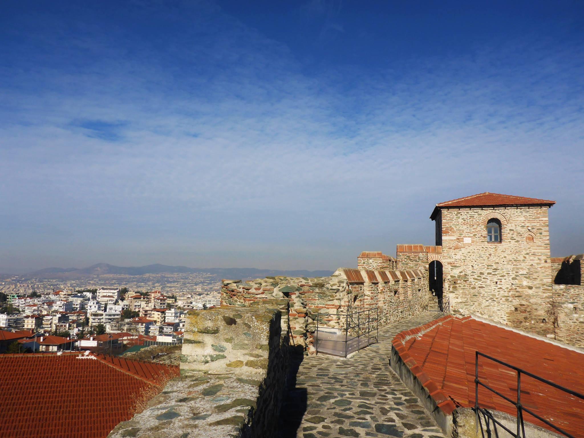 J'arrive à la ville de Thessalonique où je reste deux semaines