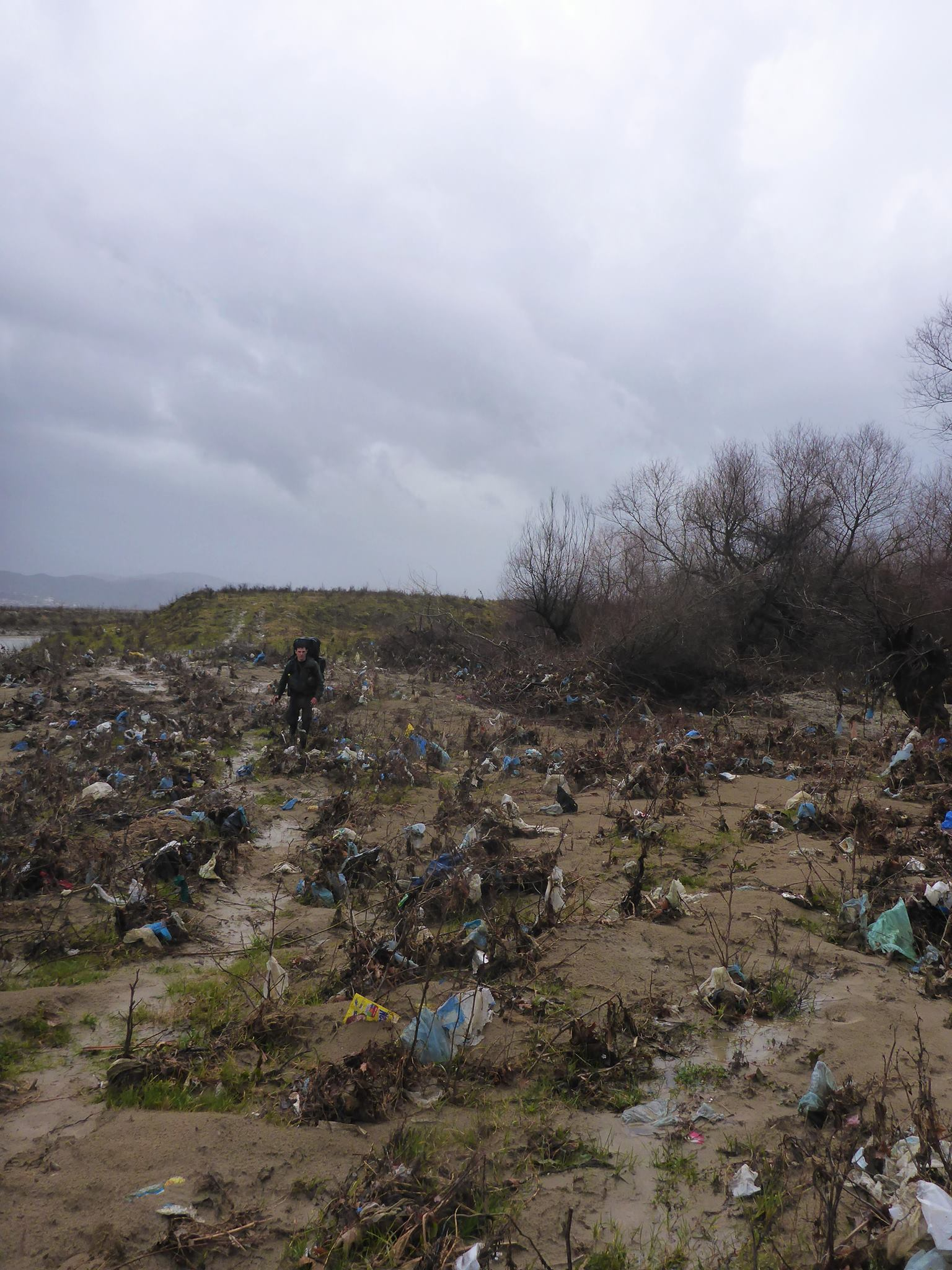 Nous marchons dans une vraie biosphère de sacs plastiques