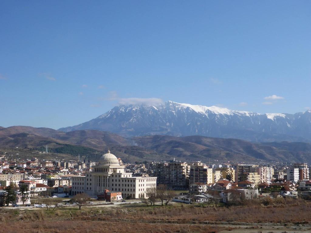 Nous atteignons la ville de Berat