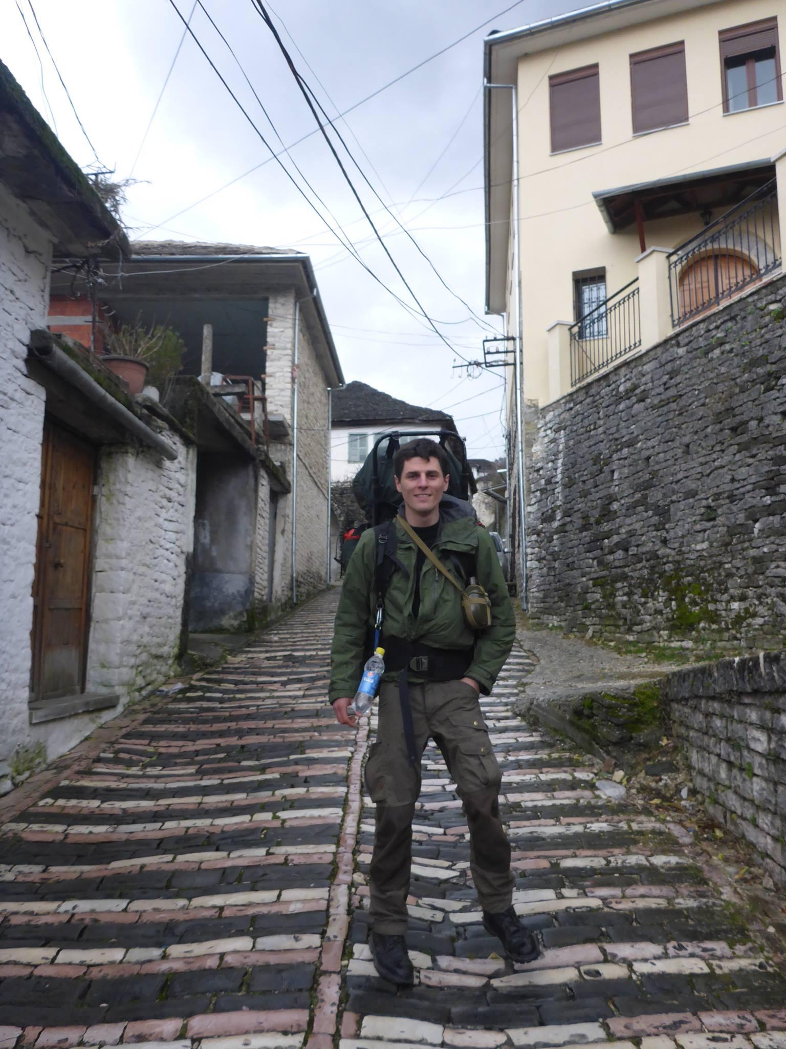 Et François, mon ancien compagnon de marche de ma première année de voyage, arrive de France afin de marcher deux semaines en ma compagnie