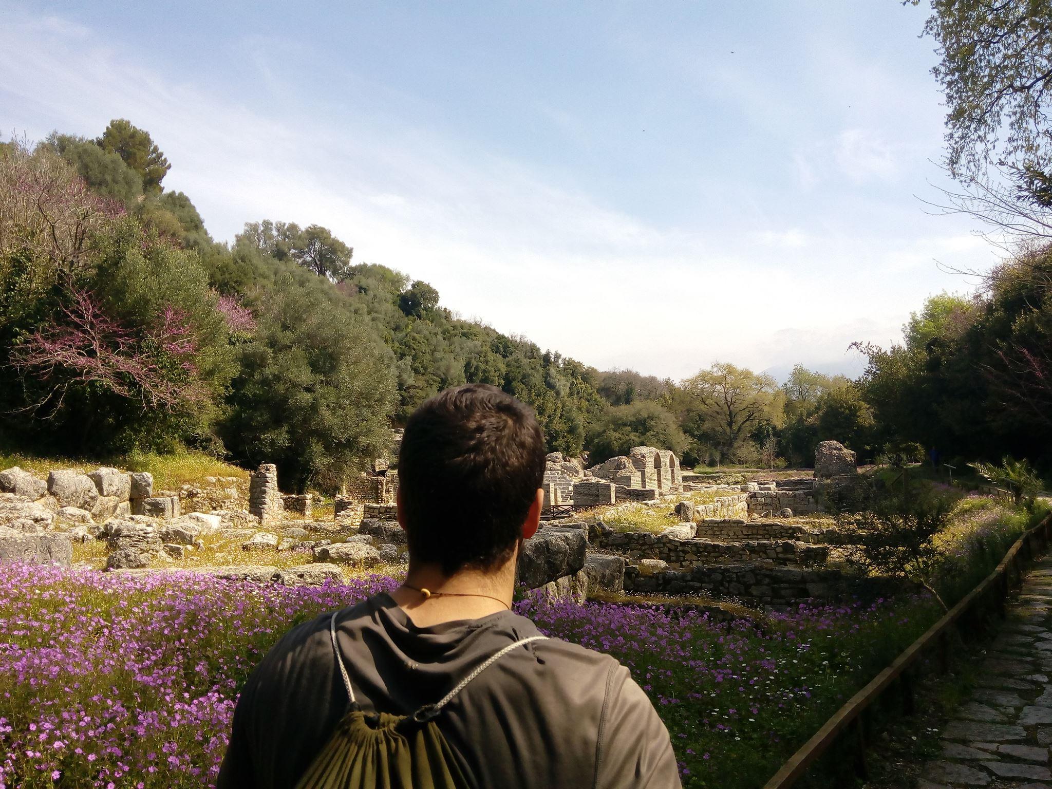 Nous visitons le site archéologique de Butrint.