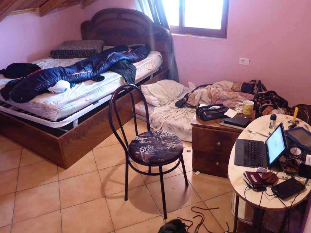 Et ma chambre au dessous des toits