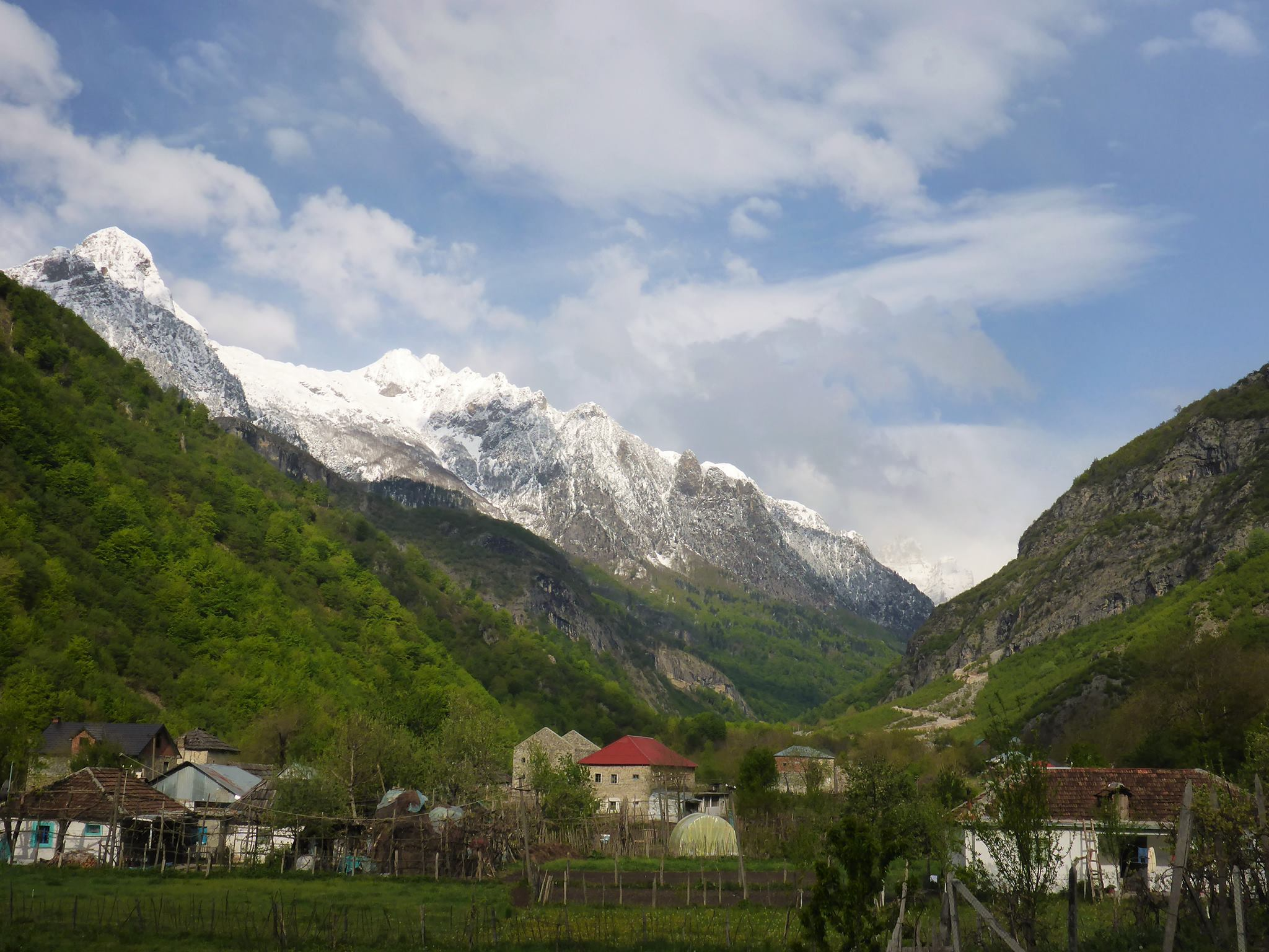 La vallée de Valbona